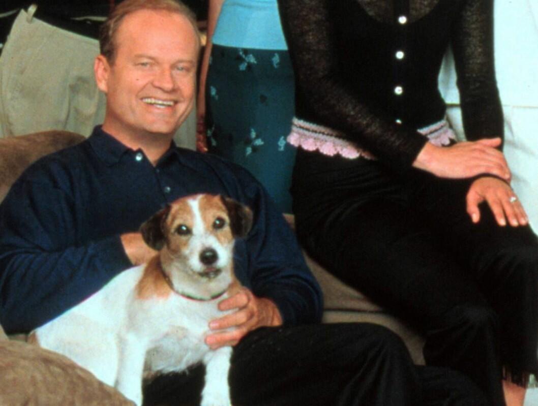 <strong>GODE VENNER:</strong> Frasier og Eddie fra den lykkelige tiden. Foto: TV2