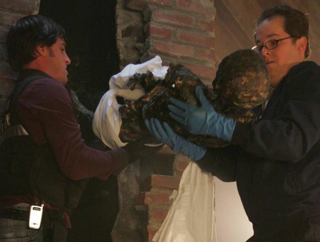 LIK I PIPEN: Drama i CSI. Foto: CBS