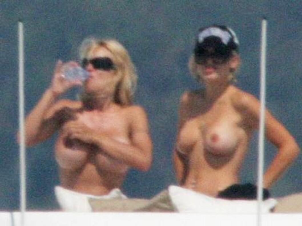 <strong>DAGENS DOBBEL DOBBEL:</strong> Damene holdt væskebalanse på sjøen. Foto: Stella Pictures