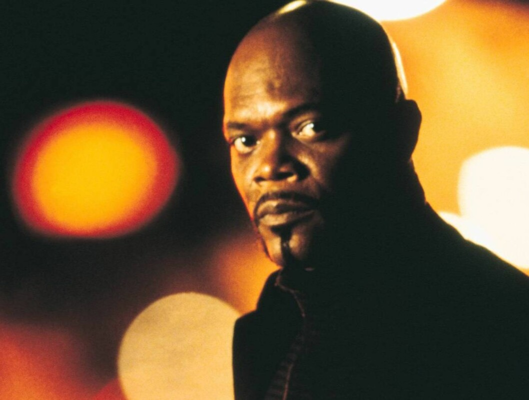 <strong>TØFF:</strong> Samuel L. Jackson er Shaft. Foto: TV2