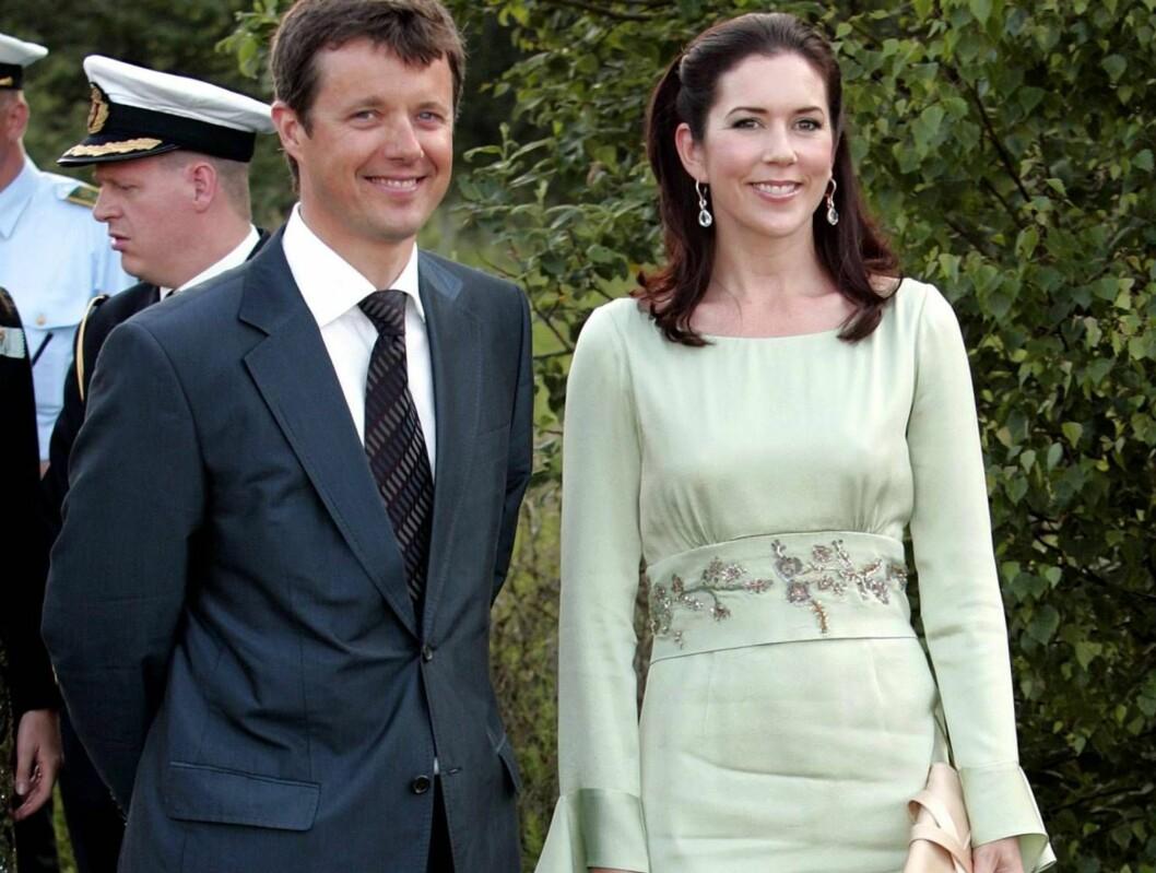 <strong>MAMMAKJOLE:</strong> Da Mary kom i enne kjolen ble det fart i ryktene i Danmark. Det er ikke mye som skal til... Foto: All Over Press