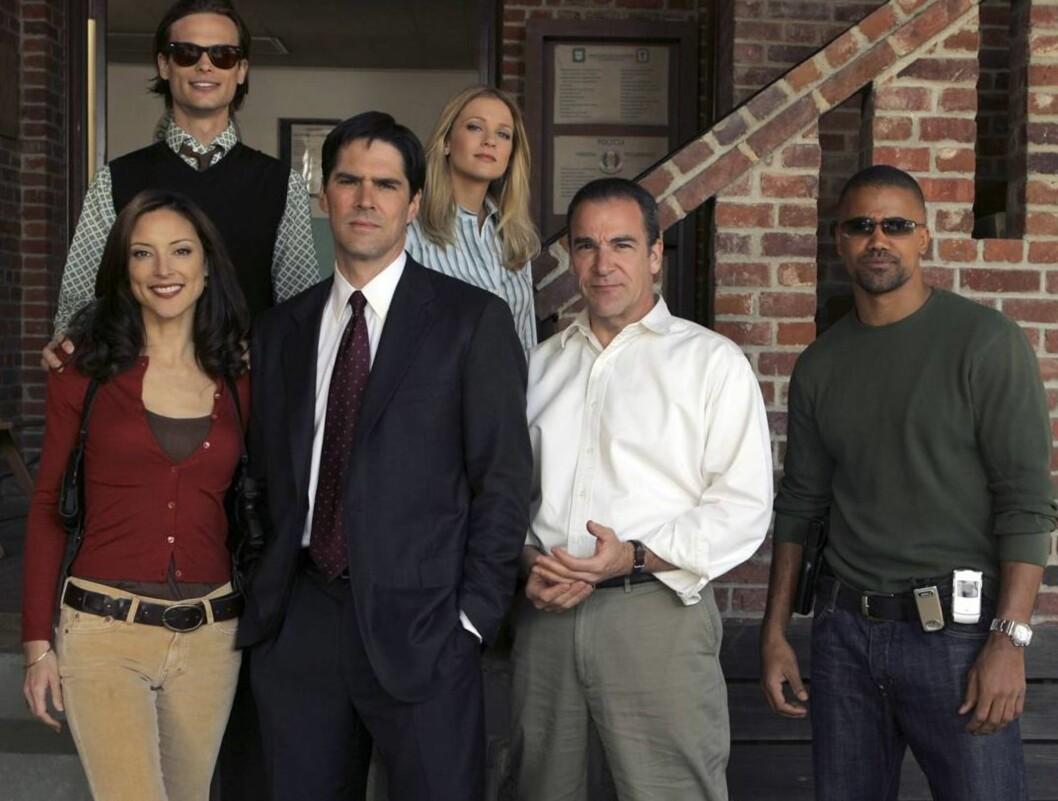 PÅ JAKT: Gjengen i Criminal Minds. Foto: TOUCHSTONE TV