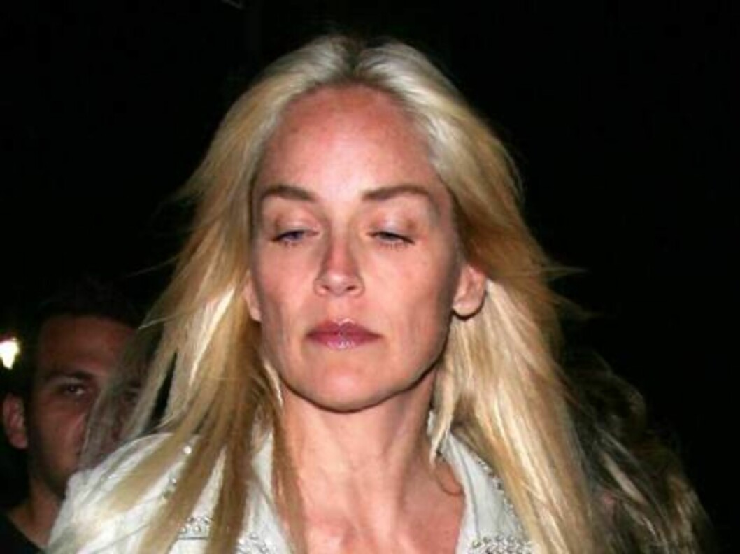 Sharon Stone with no makeup goes to amovie theater in Hollywood. June 5, 2006 X17agency exclusive / ALL OVER PRESS Foto: All Over Press