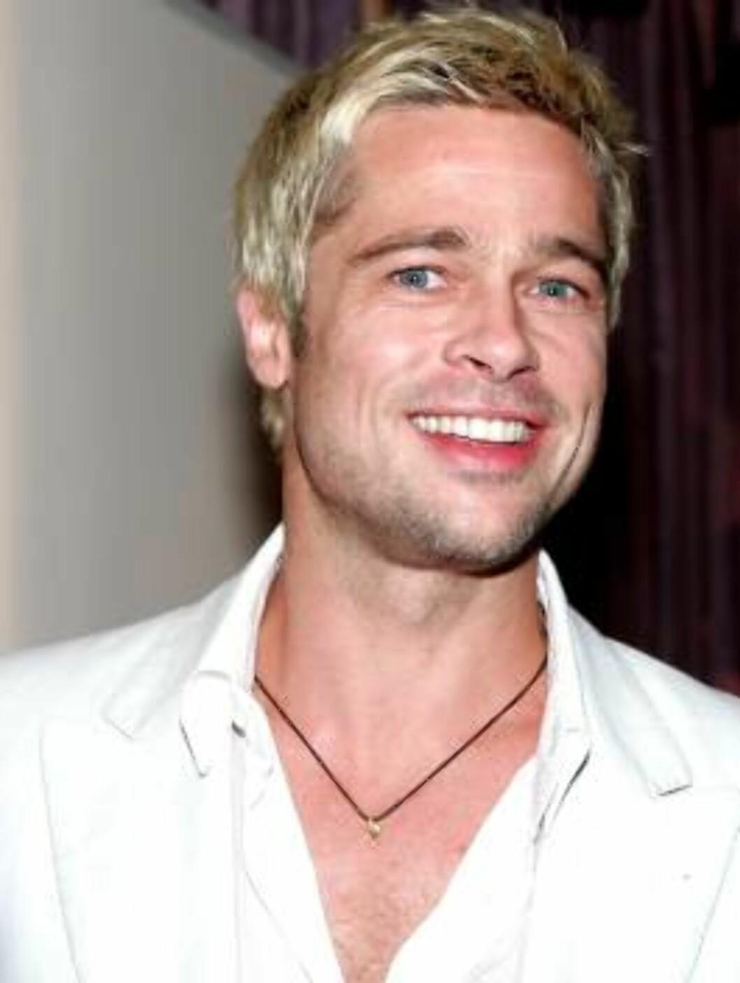 BEVERLY HILLS, CA - JULY 20:  Actor Brad Pitt poses at the Hollywood Foreign Press Association annual installation luncheon at the Beverly Hills Hotel on July 20, 2005 in Beverly Hills, California.  (Photo by Kevin Winter/Getty Images) *** Local Caption * Foto: All Over Press