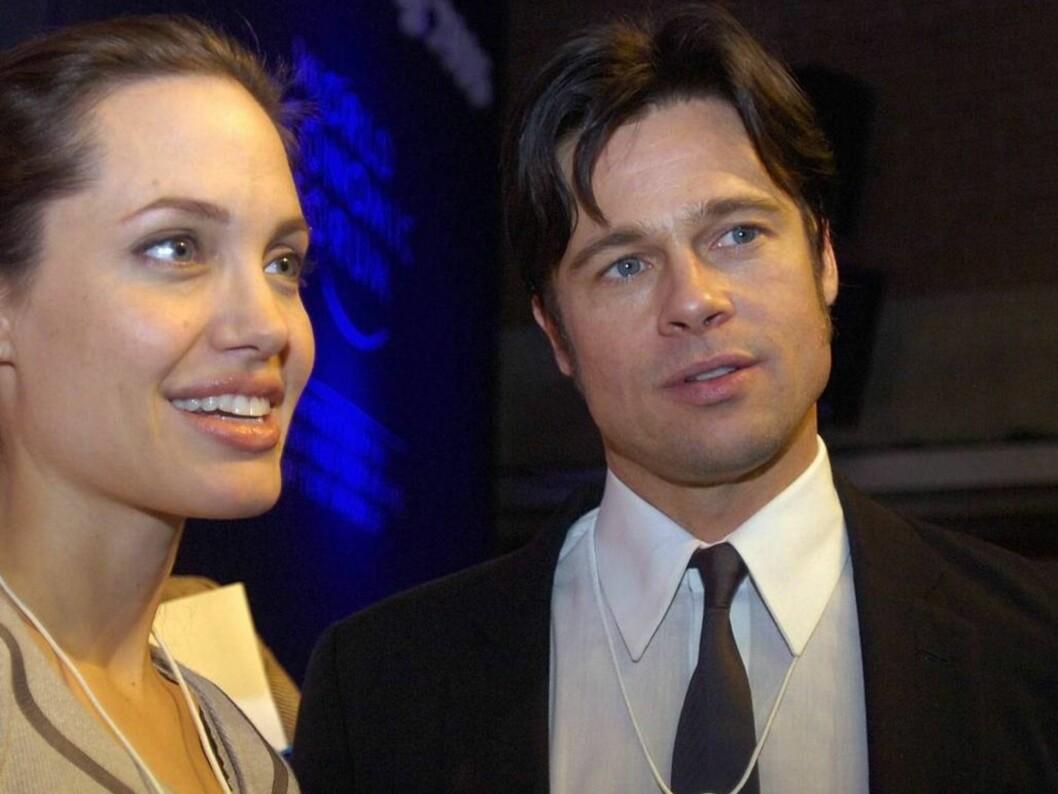 SOLGT FOR 100 MILL: Angelina og Brad la ut bildet på auksjon, men nå er Shiloh Nouvel lekket ut. Foto: AP/SCANPIX