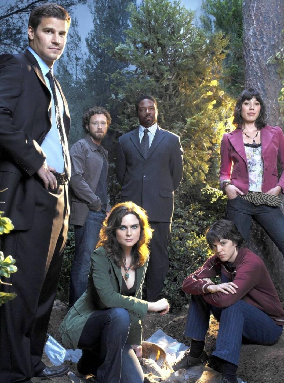 SKJELETT: Bones handler FBIs jobb med å løse drapssaker. Foto: TV3
