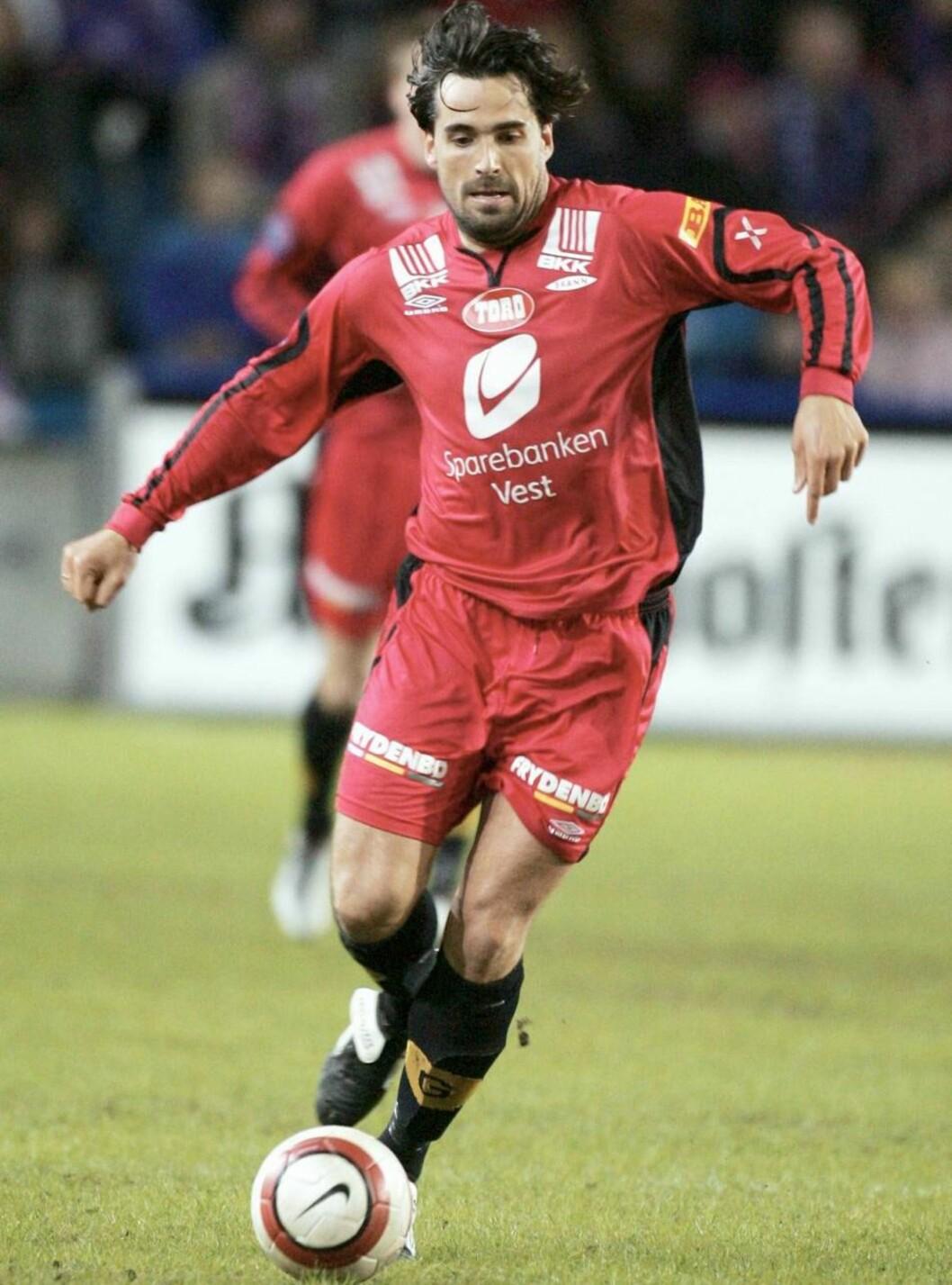 Fotball, 17. april 2005, Tippeligaen, Vålerenga - Brann 2-1, Martin Andresen, Brann Foto: Digitalsport