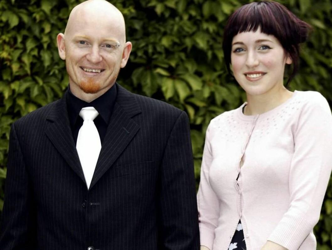 GIFTEKLAR: Den rocka Idol-finalisten fra 2004 - Margaret Berger - har sagt ja til sin kjære Odd Sprakehaug. Foto: Henning Jensen/Se og Hør