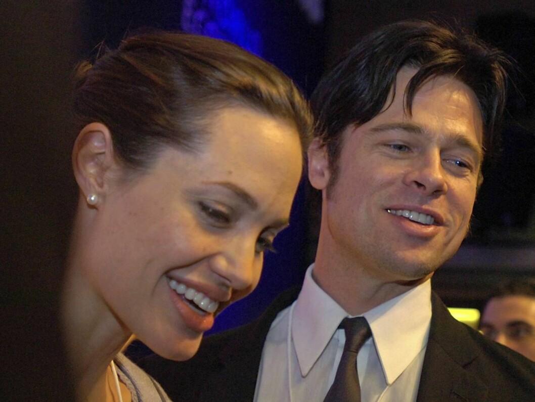 LYKKELIGE: Brad og Angelina kan glede seg over en velskapt datter. Foto: AP/SCANPIX
