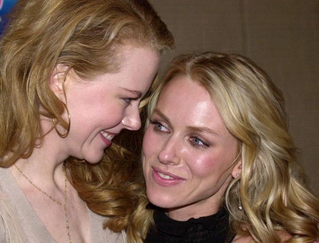 <strong>FESTLIG LAG:</strong> Naomi Watts har kommet til Sydney for å drikke ut Nicole Kidman før bryllupet. Foto: AP/SCANPIX