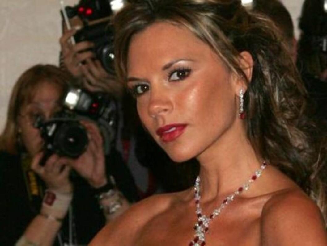 SÅPEDRØMMER: Victoria Beckham skulle gjerne hatt en rolle i Østkantfolk. Foto: All Over Press