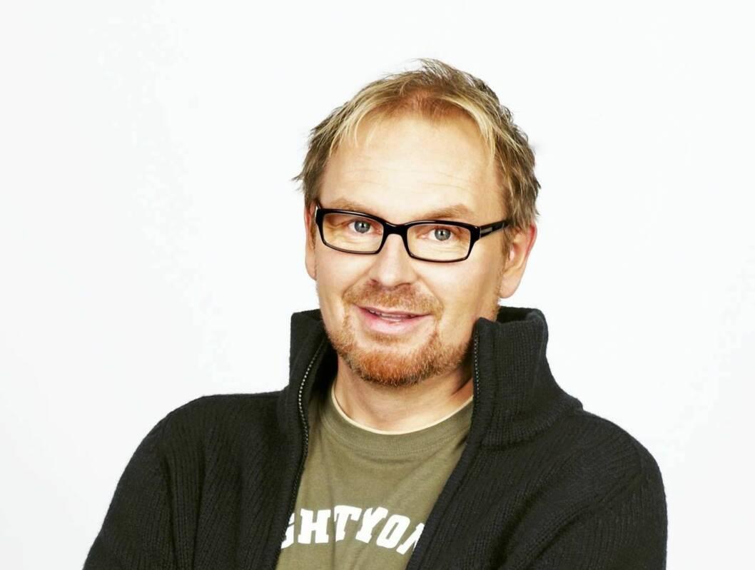 FIKK EN JR-IDOL: Idol-dommer Hans Olav Grøttheim måtte i hui og hast forlate Idol og dra på fødestua. Foto: TV2