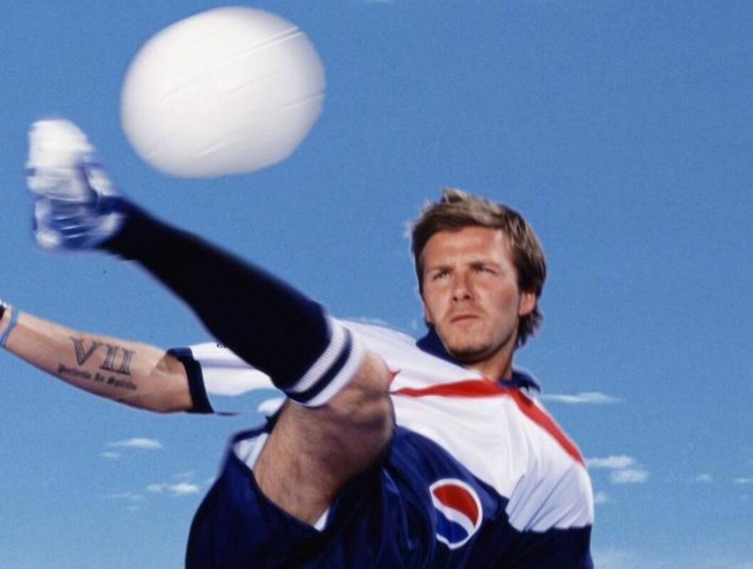 FULL TREFF: Real Madrid-stjernen David Beckham scorer høyt hos begge kjønn. Foto: Pepsi