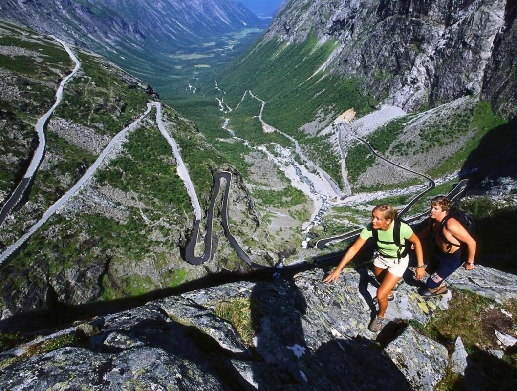 TIDLIG ÅPNING: Norges vakreste bilrute har åpnet. Foto: Terje Rakke/Nordic Life AS/Fjo