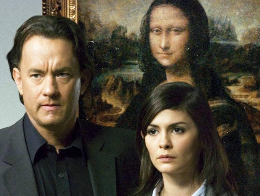 PÅ KINO: Tom Hanks og Audrey Tautou spiller hovedrollene i den kinoaktuelle filmen «Da Vinci -koden».