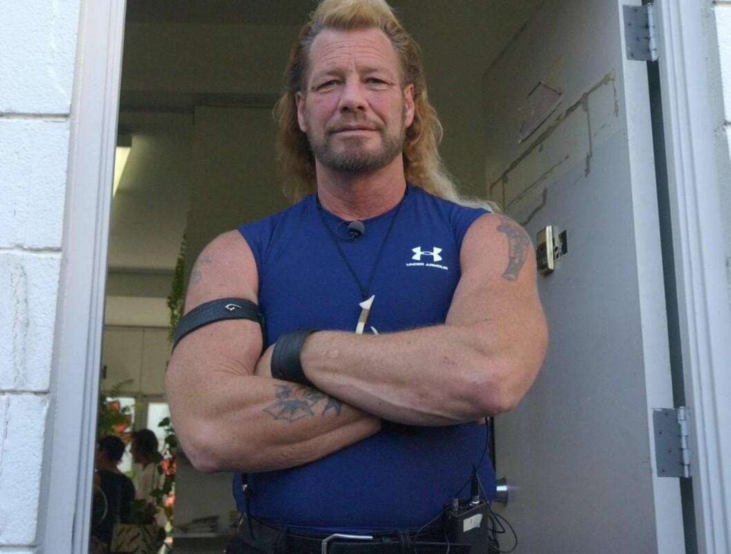 FINNER DEG: Tøffe Duane har hatt et hardt liv. Før han kom på TV, satt han i fengsel for medvirkning til drap!