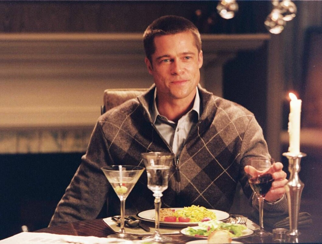 FEST: Brad har god plass til å be middagsgjester i sitt nye hjem. Foto: Fox
