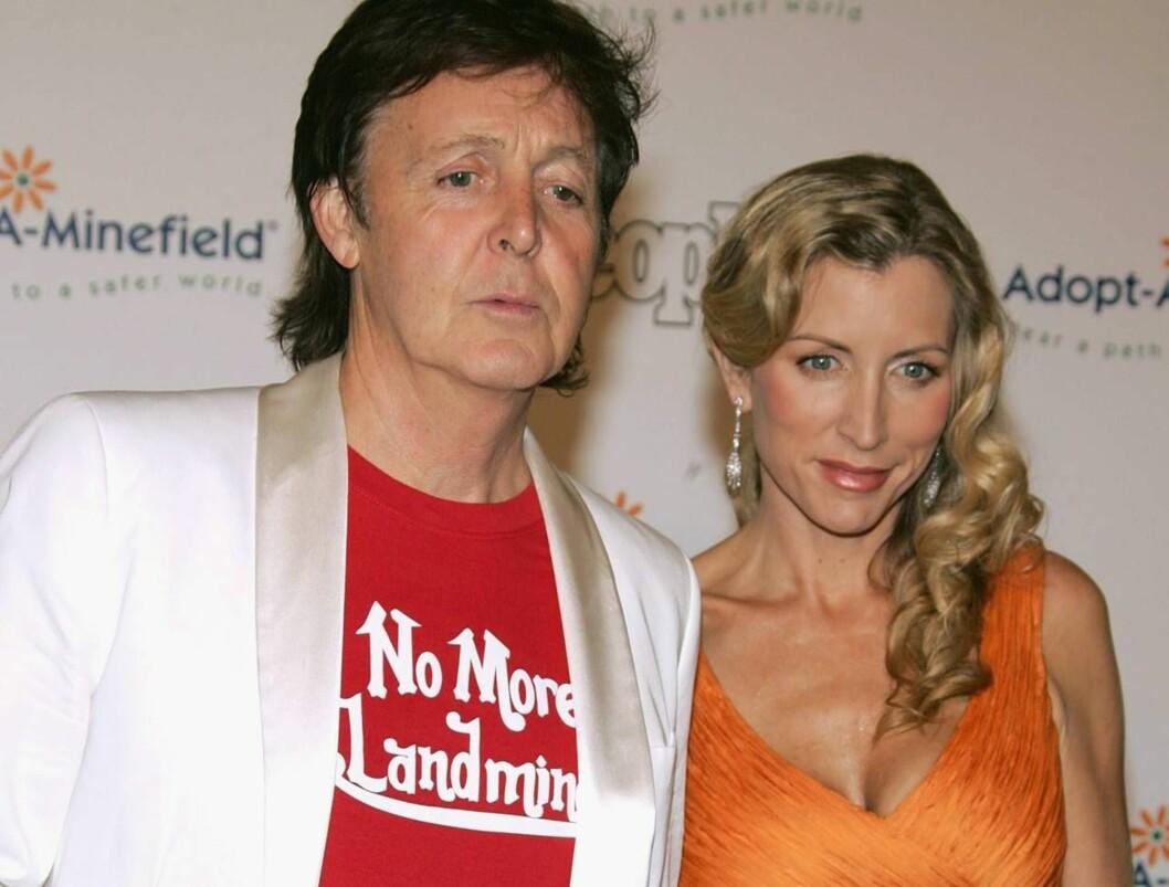 FIKK NOK: Paul orket ikke mer kjeft og krangling. Skilsmissen kan koste ham to milliarder kroner! Foto: All Over Press