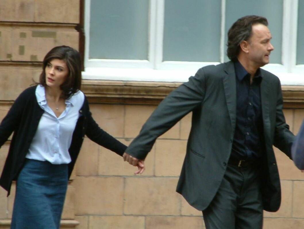 FRA FILMEN: I Da Vinci-koden spiller Audrey mot blant andre Tom Hanks. Foto: All Over Press