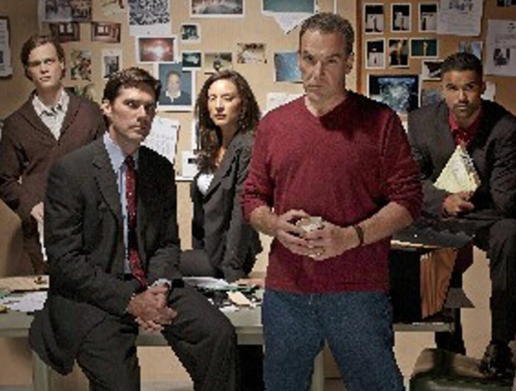TØFFINGER: Gjengen i Criminal Minds Foto: TV2