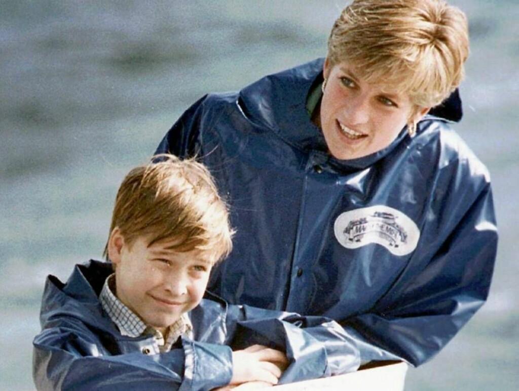 MAMMAS GUTT: Prinsesse Diana ville nok vært veldig stolt av William. Foto: AP/SCANPIX