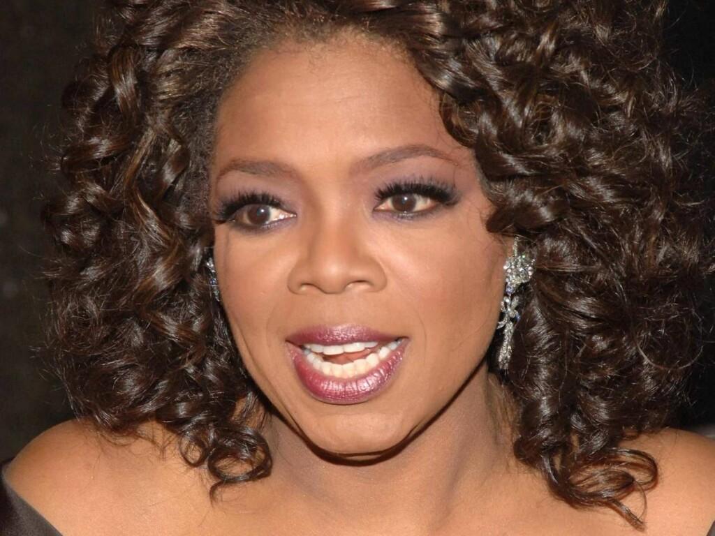 PÅ TOPP: Oprah topper listen for 4. år på rad. Foto: All Over Press