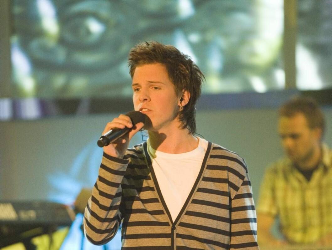 SANG SEG TIL STJERNENE: Aleksander Denstad With var ikke forhåndsfavoritt, men var best da det gjaldt og vant Idol 2006. Foto: Fotograf Tor Lindseth