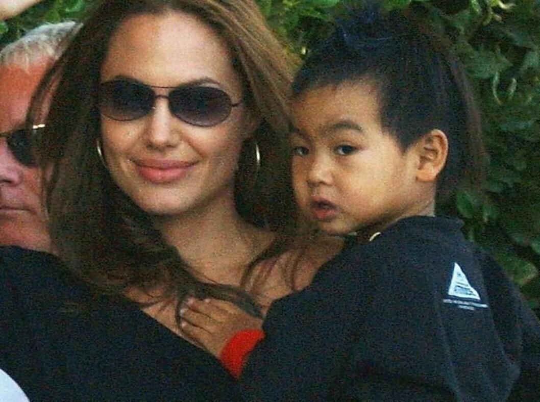 Angelina Jolie startet den nye adopsjonsbølgen med vesle Maddox. Foto: All Over Press