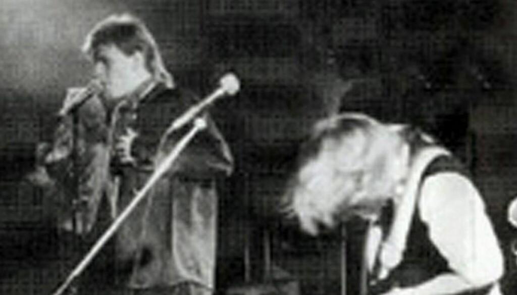 Vokalist: Bård og bandet spilte på en rekke konserter i både inn- og utland. Foto: NRK
