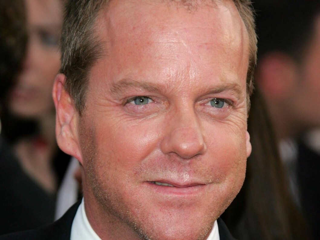 <strong>LOS ANGELES, CA - JANUARY 16:</strong>  Actor Kiefer Sutherland arrives to the 63rd Annual Golden Globe Awards at the Beverly Hilton on January 16, 2006 in Beverly Hills, California.  (Photo by Kevin Winter/Getty Images) *** Local Caption *** Kiefer Sutherland  * Foto: All Over Press