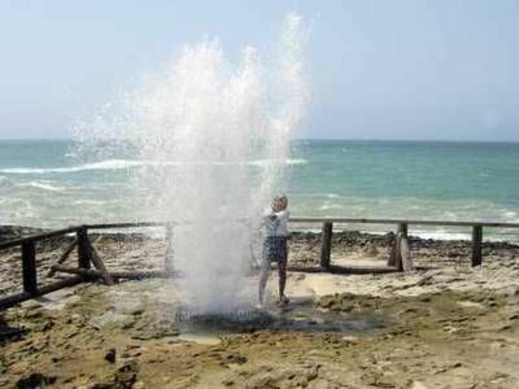 Lene Elise Bergum på ferie i Oman  Foto: Se og Hør