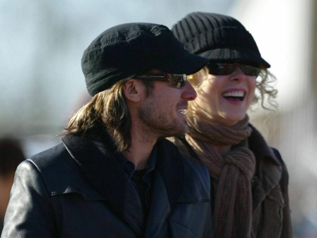 KJÆRESTER: Keith Urban og Nicole Kidman avviser at de har tenkt å gifte seg i vår. Foto: All Over