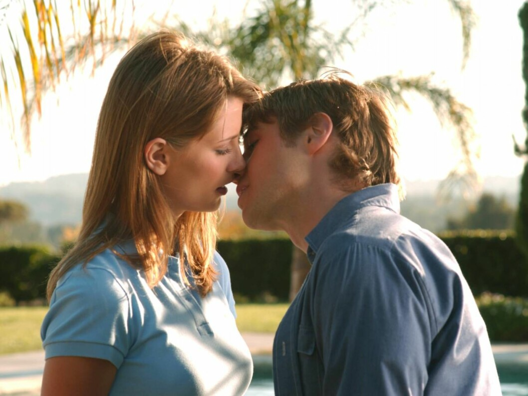 "HET ROLLE: Mischas rollefigur  Marissa Cooper har blitt en populær figur i ""The O.C."" Her har hun fått kontakt med Ryan Atwood (Benjamin McKenzie). Foto: TV3"