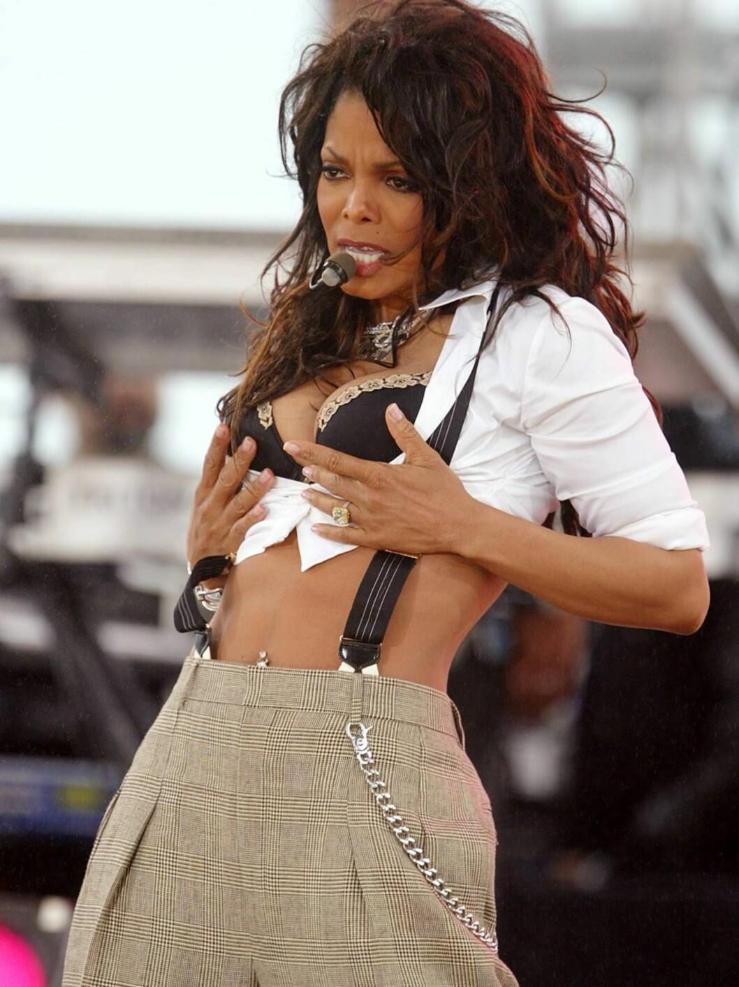 <strong>I 2004:</strong> Det var en veltrent, og sikkert sulten, Janet vi kunne se i 2004. Foto: All Over Press