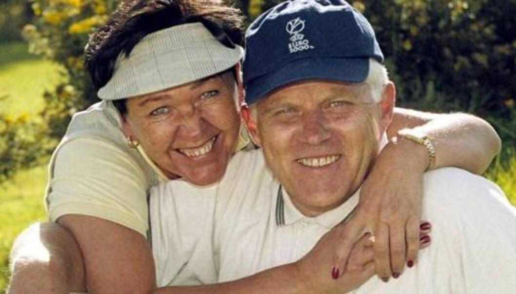 <strong>SESONGÅPNING PÅ HJEMMEBANE:</strong> Ivar Hoff og kona Bente har flyttet inn i ny bolig. Foto: Tore Skaar, Se og Hør