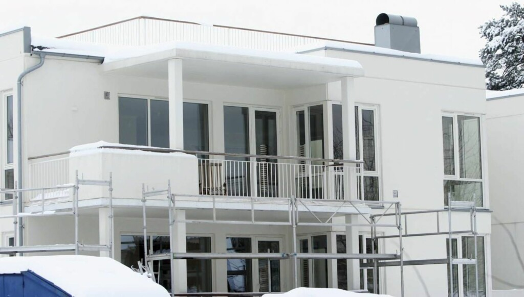 Utsikt: Den nye leiligheten på Bygdøy har en takterrasse på nesten 70 kvadrat og utsikt over Oslo-fjorden. Foto: Morten Krogh
