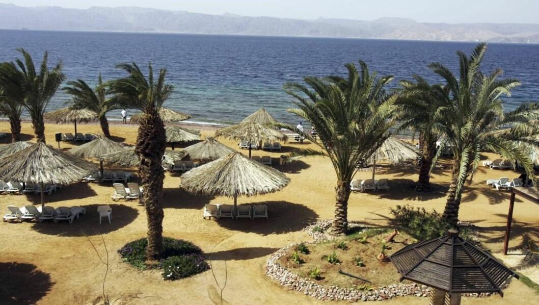 <strong>NYHET:</strong> Med Apollo kan du dra direkte til den jordanske Akabukta ved Rødehavet. Foto: Apollo