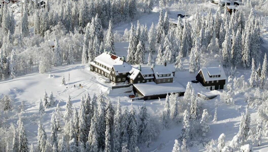 <strong>GEDIGENT:</strong> Huset til Stein Erik Hagen er blant de største i Norge #2013 og ligger vakkert til med fantastisk utsikt over hovedstaden og Oslofjorden. Foto: Jan-Petter Dahl