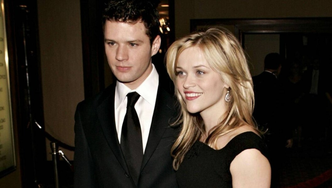 <strong>LOS ANGELES, CA - JANUARY 28:</strong>  Actor Ryan Phillippe and actress Reese Witherpoon arrive at the 58th Annual Directors Guild Of America Awards held at Hyatt Regency Century Plaza on January 28, 2006 in Los Angeles, California.  (Photo by Michael Buckner/Get Foto: All Over Press