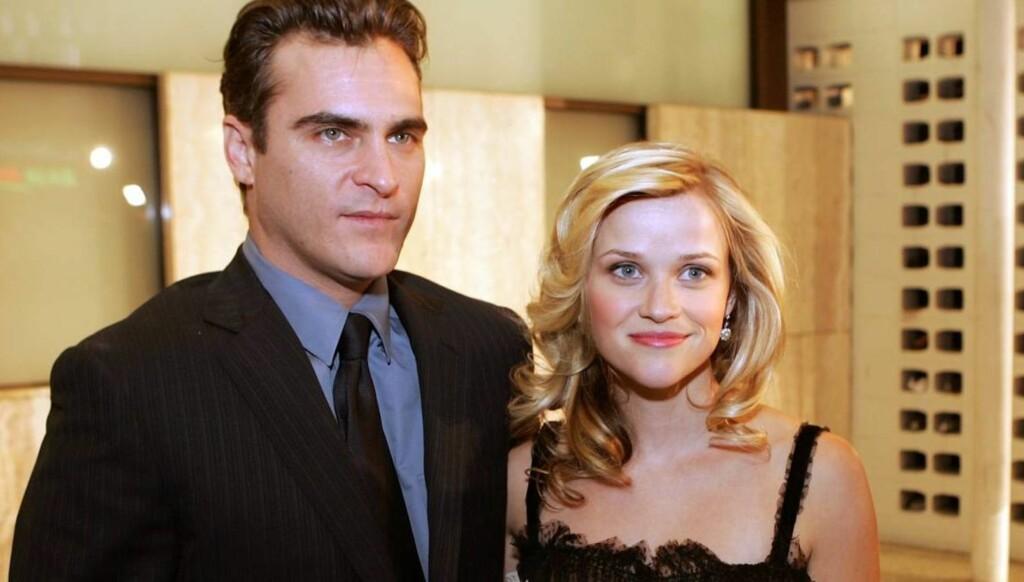 """SUKSESSPAR: Joaquin Phoenix og Reese Witherspoon spilte Johnny Cash og June Carter i Oscarfilmen """"Walk The Line"""". Foto: All Over Press"""