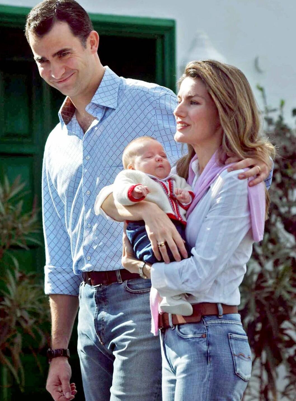DRONNING? Prinsesse Leonor er nummer to i arverekken etter kronpprins Felipe i Spania. Foto: AP/SCANPIX