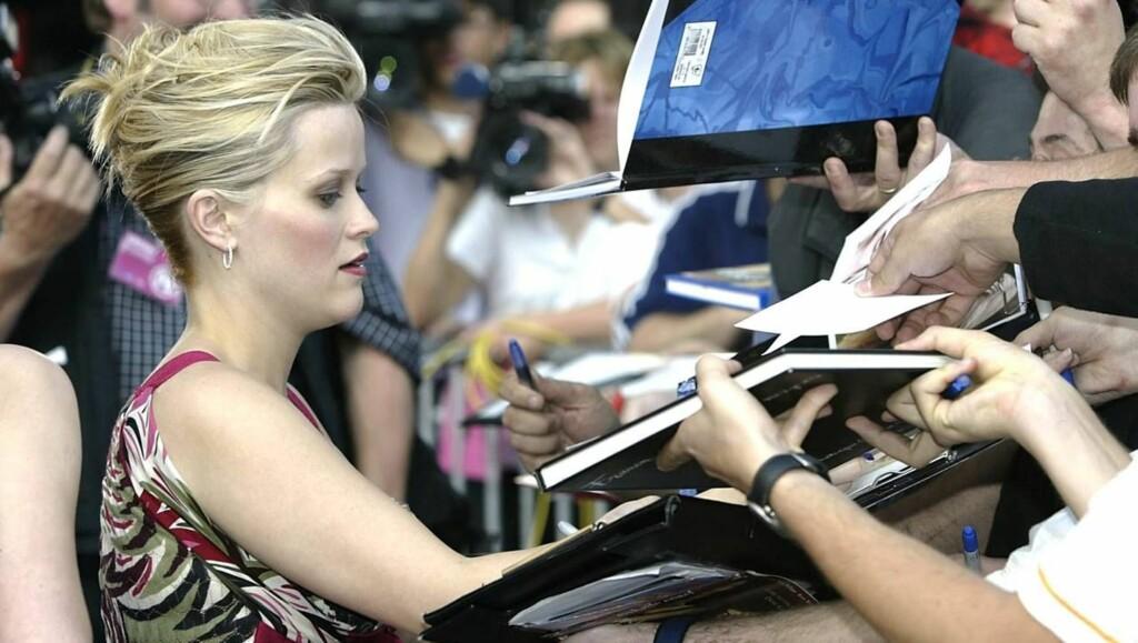 REDD: Stjernen er likevel svært opptatt av hva fansen mener om henne... Foto: All Over Press