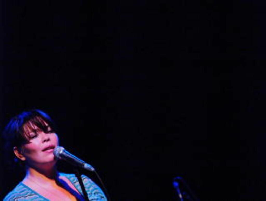 TILBAKE Solveig Slettahjell på Kongsberg Jazzfestival i 2006. I år er hun tilbake.  Foto: Terje Mosnes / Dagbladet