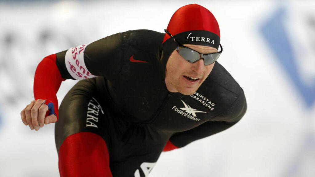 FORTSATT SKUFFET OVER OL-VRAKING: Øystein Grødum vil satse på egenhånd fram mot OL i 2014.  Foto: Terje Bendiksby / Scanpix