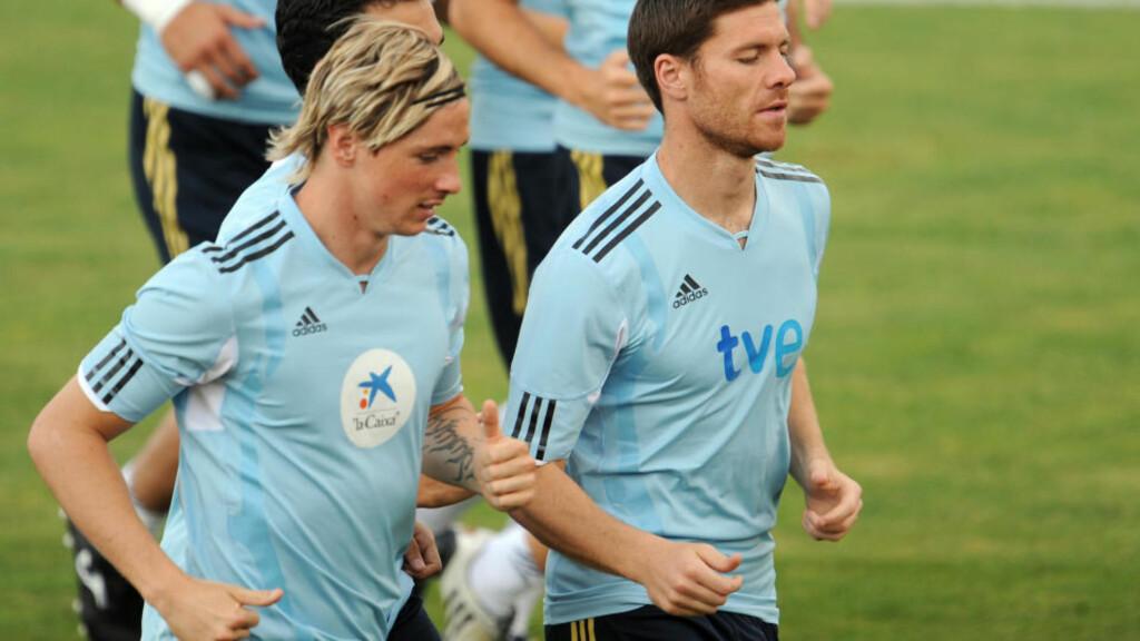 SAVNER XABI: Fernando Torres mener Liverpool skulle beholdt Spania-kollega Xabi Alonso - og kjøpt flere spillere - forrige sommer. Foto: AFP/JAVIER SORIANO
