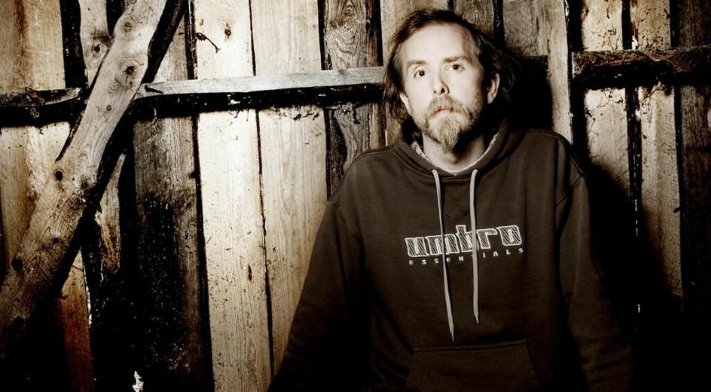 FÅR SVAR: Forfatter Håvard Rem svarer på Varg Vikernes' kritikk av hans nyeste bok.  Foto: Linda Næsfeldt