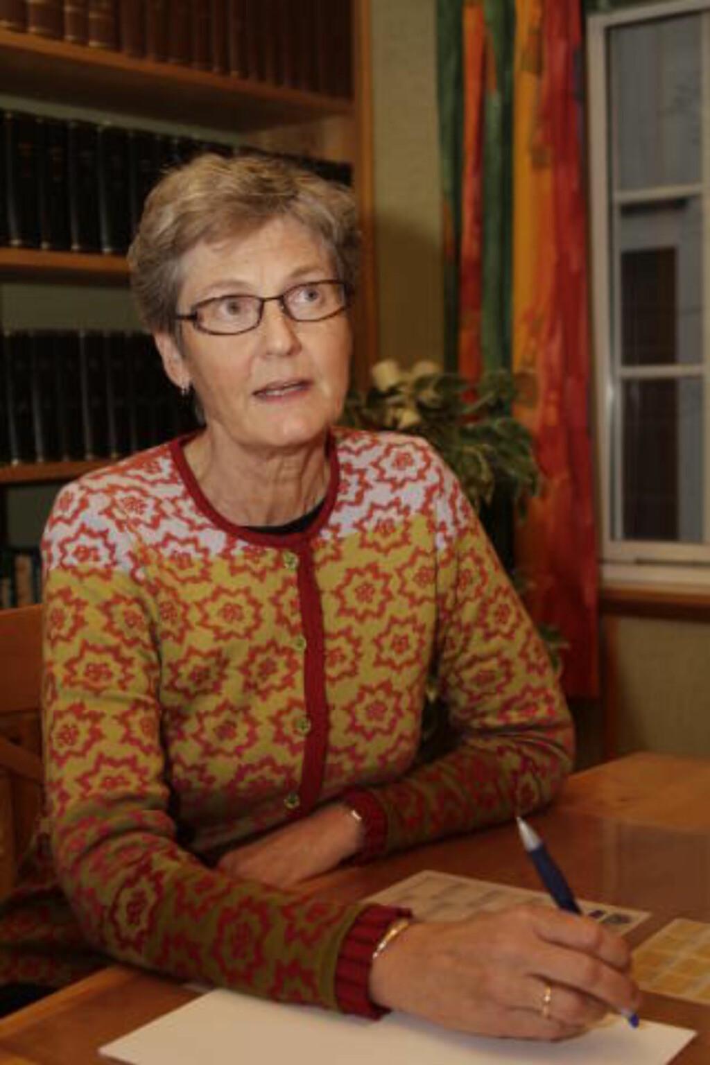 BISTÅR OFFERET: Advokat Birte Mjønes. Foto: Ron Holan