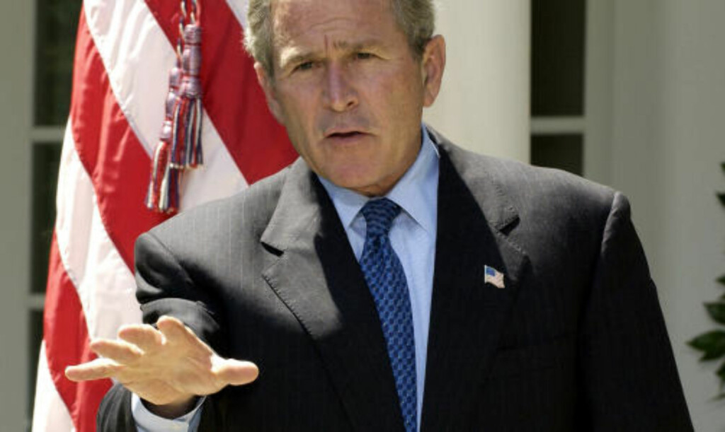 - HAN VISSTE: En tidligere stabssjef hevder George W. Bush visste at flere hundre personer satt uskyldig fengslet. Foto: Reuters