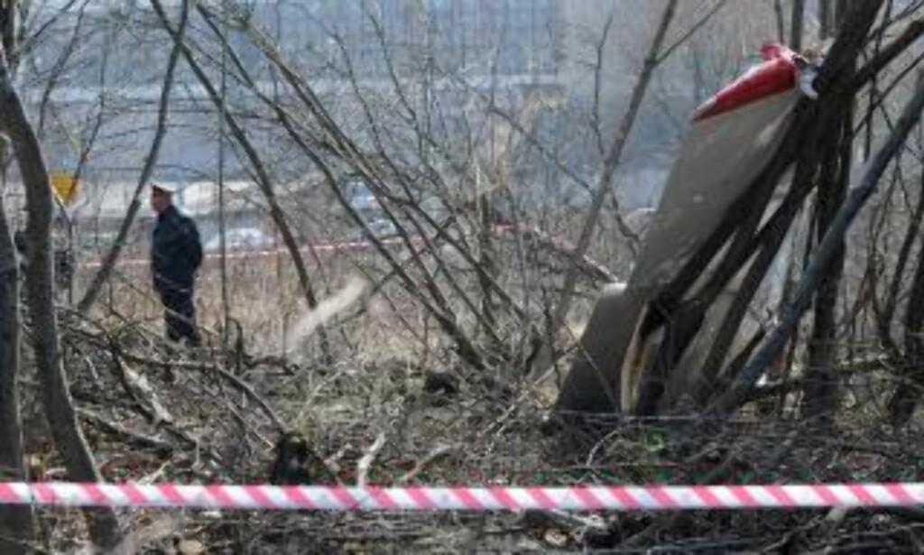 KRASJET: 96 personer døde da presidentflyet styrtet i Russland. Foto:  EPA/Jacek Turczyk/Scanpix