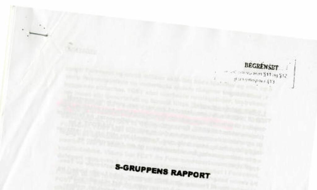 LEVERT JANUAR 2009: Få måneder senere kommer påstander om en mulig enorm overvåkingsskandale. I dag finnes bare to av de ni forslagene i oppsummeringen i rapporten igjen i forslaget til ny instruks for tjenesten.